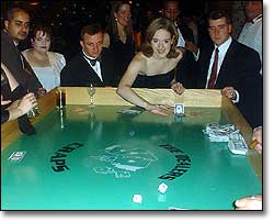 Roll of the Dice at the Craps Table